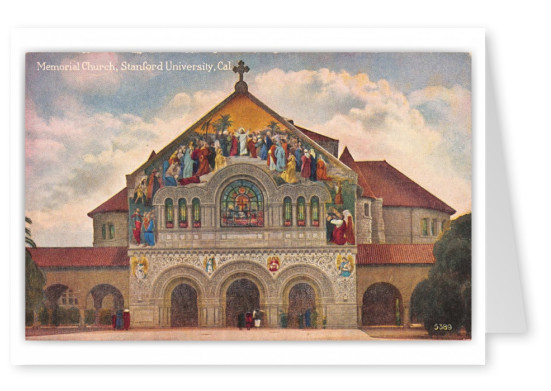 Stanford, California, Memorial Church, Stanford Univeristy
