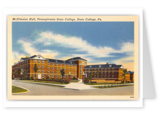 State College, Pennsylvania, McElwaine Hall, State College