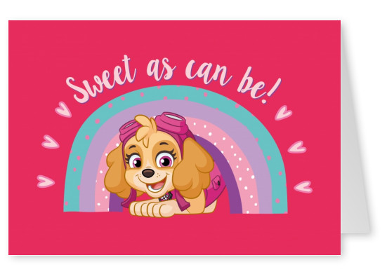 PAW Patrol Sweet as can be!