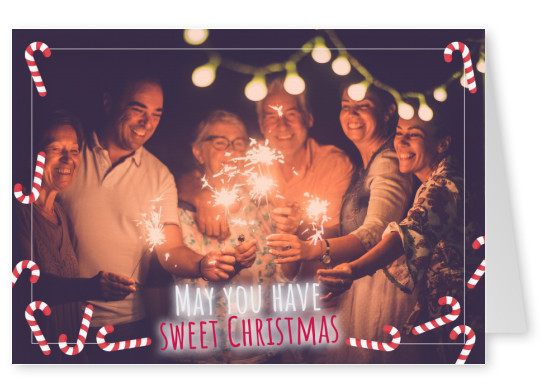 May you have sweet Christmas