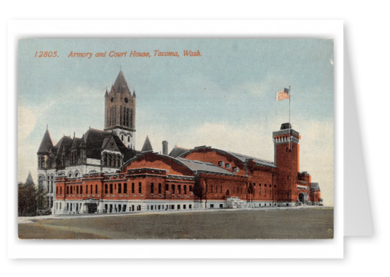 Tacoma, Washington, Armry and Court House