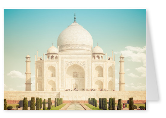 photo Taj Mahal by Benzki