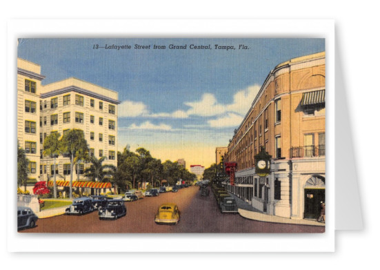 Tampa, Florida, Lafayette STreet from Grand Central