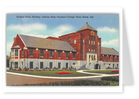 Terre Haute, Indian, Student Union Building, Indian State Teachers College