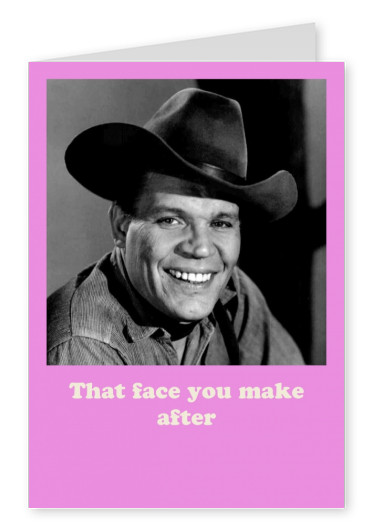 Photo Neville Brand that face you make