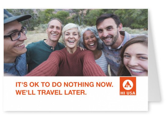 Its OK to do nothing now. We'll travel later.
