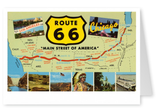 Curt Teich Postcard Archives Collection Route 66