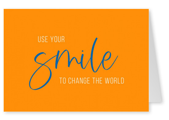 Meridian Design Use your smile to change the world