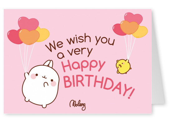 Happy Birthday! - MOLANG