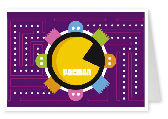 pacman labyrinth videogame