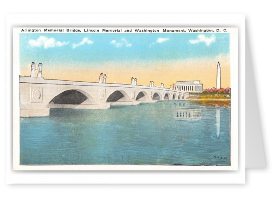 Washington DC, Arlington Memorial Bridge