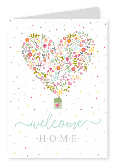 postcardLive Welcome home