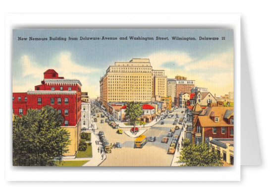 Wilmington, Delaware, Delaware Avenue and Washington Street