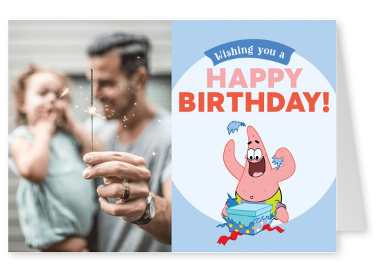 Spongebob - Wishing you a Happy Birthday!