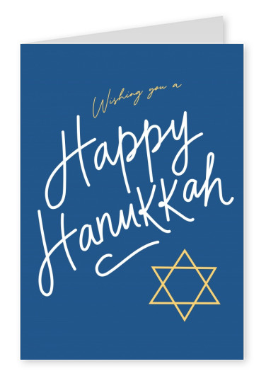 Wishing you a Happy Hanukkah