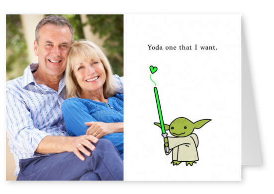 Yoda one that I want.