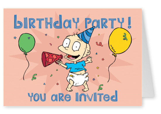 RUGRATS Birthday party! You are invited