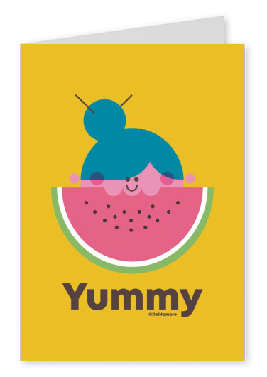 Del Hambre Illustration yummy 2