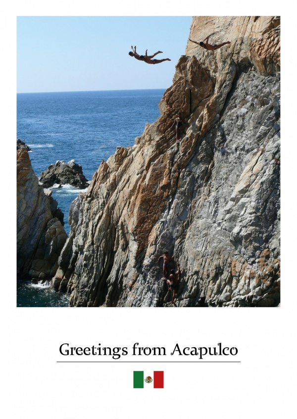 Photo Acapulco cliff jumping
