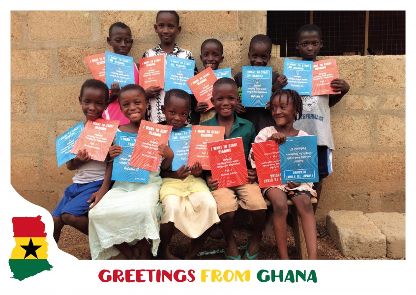 Greetings from ghana vacation greetings send real postcards online card with ghana motives m4hsunfo