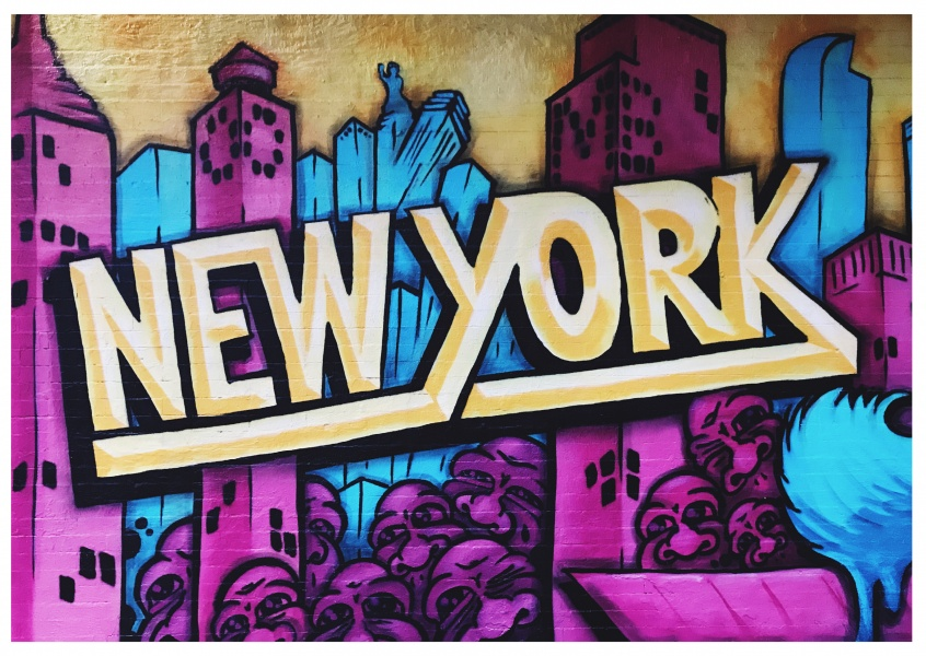 Foto Graffiti New york