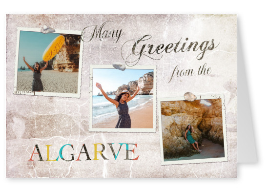 Many greetings from the Algarve