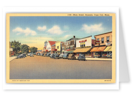 Cape Cod, Massachusetts, Main Street, Hyannis