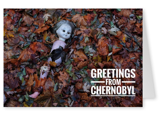 Postkarte Greetings from Chernobyl