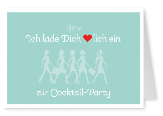 retro Illustration Frauen Silhouetten