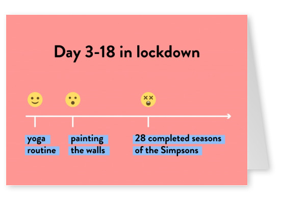 Day 3-18 in lockdown