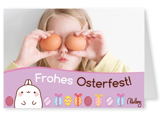 Frohes Osterfest! - MOLANG