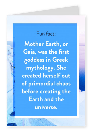 Fun fact - Mother Earth