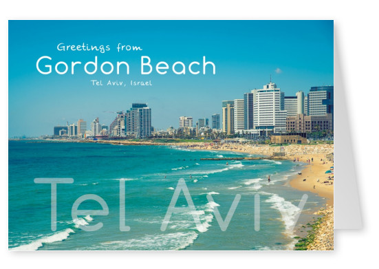 Tel Aviv Gordon Beach