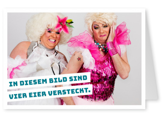 Zwei Drag Queens