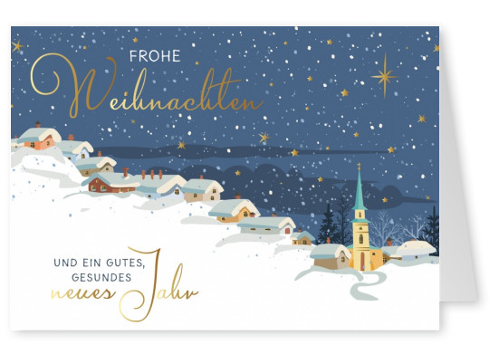 Illustration Winter-Landschaft