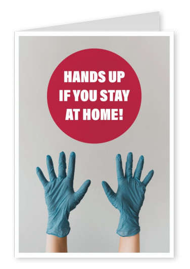 Hands up if you stay at home