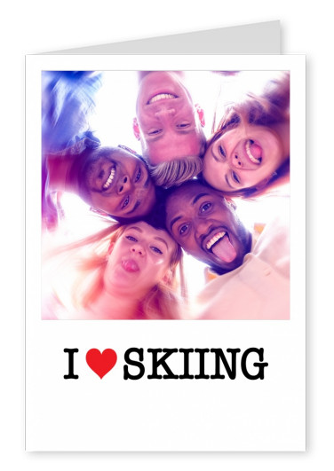 I love Skiing