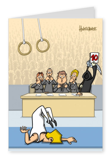tot aber lustig Michael Holtschulte Cartoon Jury