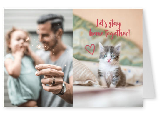 Let's stay home together!