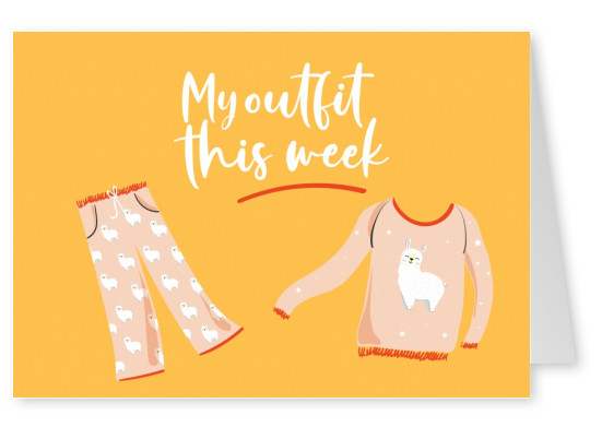 My outfit this week