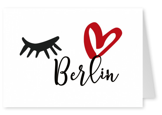 Illustration Eye love Berlin