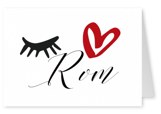 Illustration Eye-love Rom