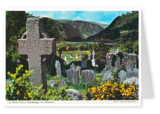 The John Hinde Archive Foto St.Kevin's Cross, Irland