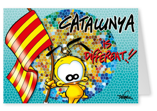 Le Piaf Cartoon Catalunya is different
