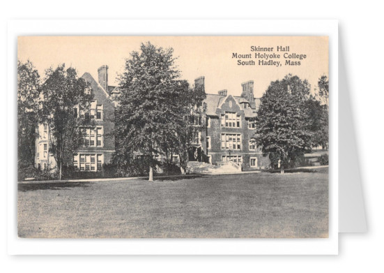 South Hadley, Massachusetts, Skinner Hall, Mount Holyoke College