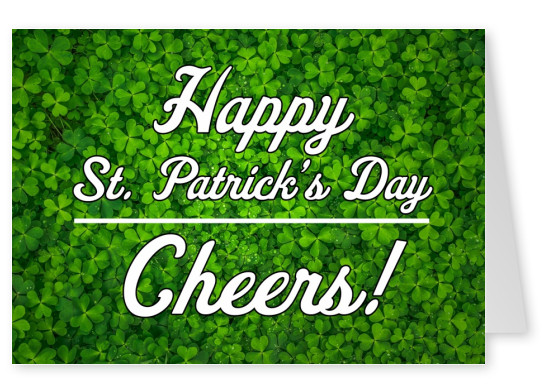 St. Patrick's Day - Cheers!