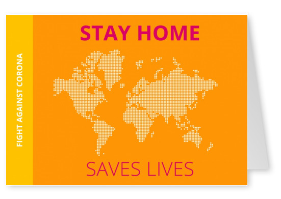 Meridian Design Stay home saves lives