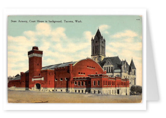 Tacoma, Washington, State Armory, Court House