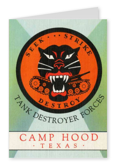 Curt Teich Postcard Archives Collection Tank Destroyer Forces