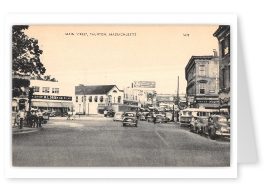 Taunton, Massachusetts, Main Street